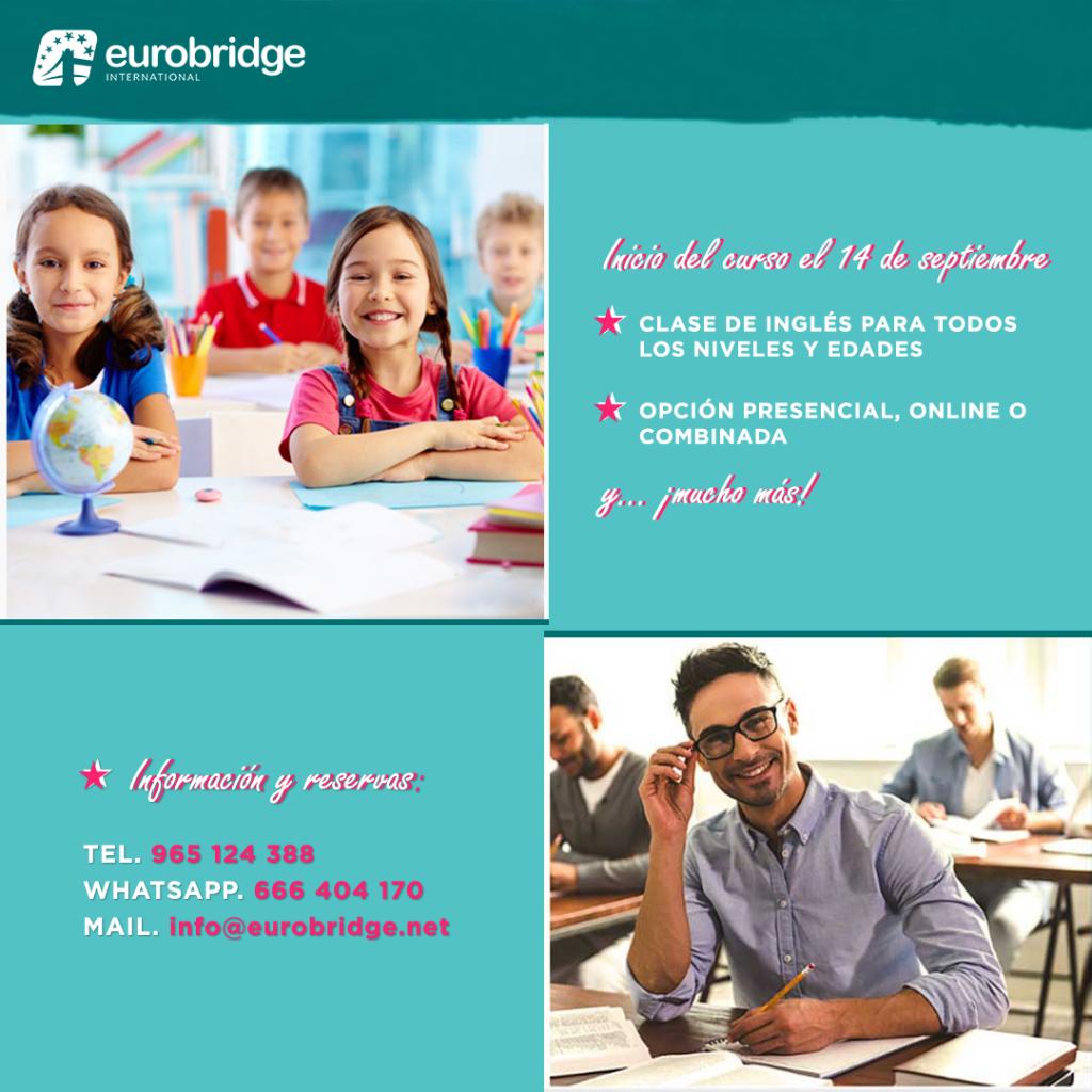 cursos de ingles presencial y online